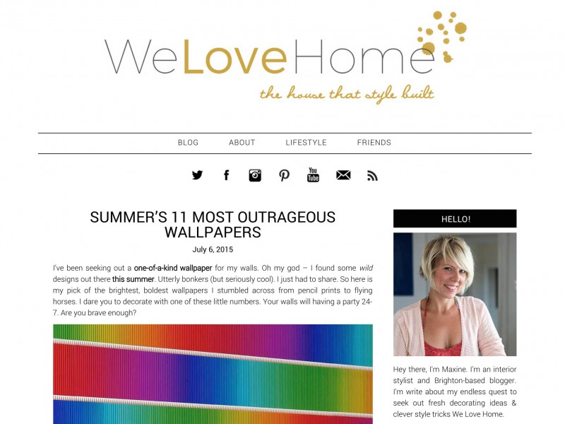 We Love Home Blog – July 2015