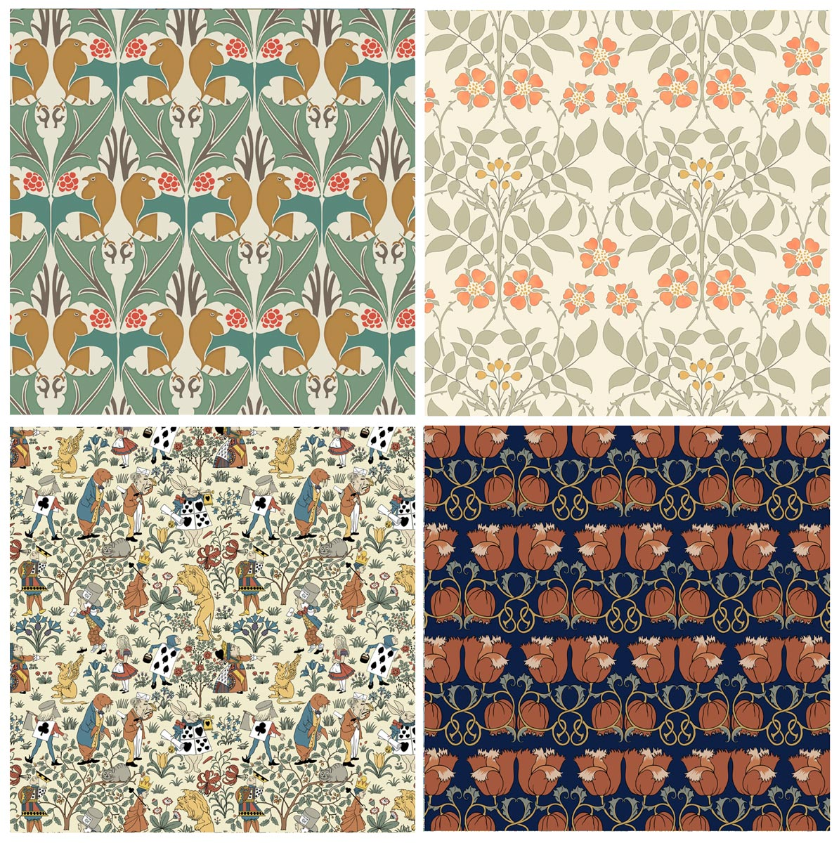 Pattern Design by C.F.A. Voysey