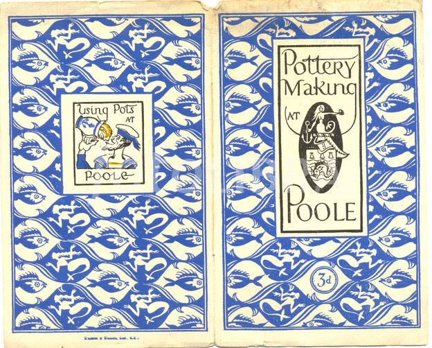 Bawden cover of pottery making at poole