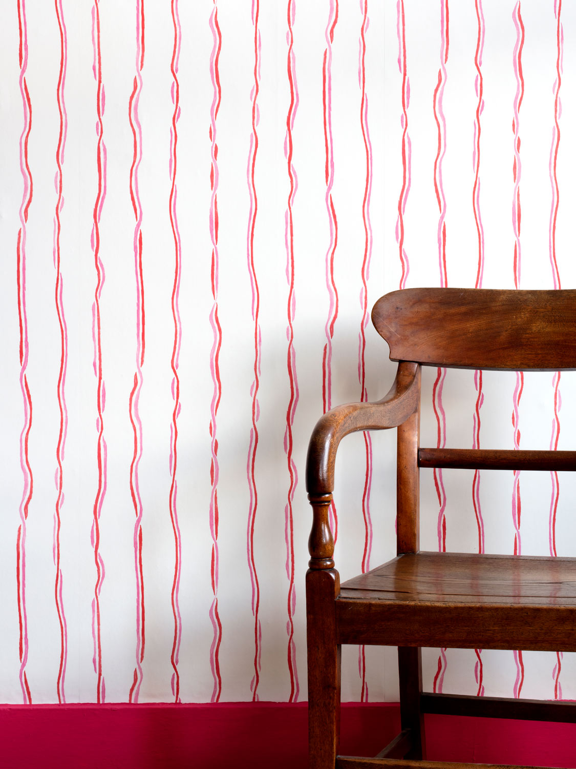 Stripy wallpaper by Susie Green